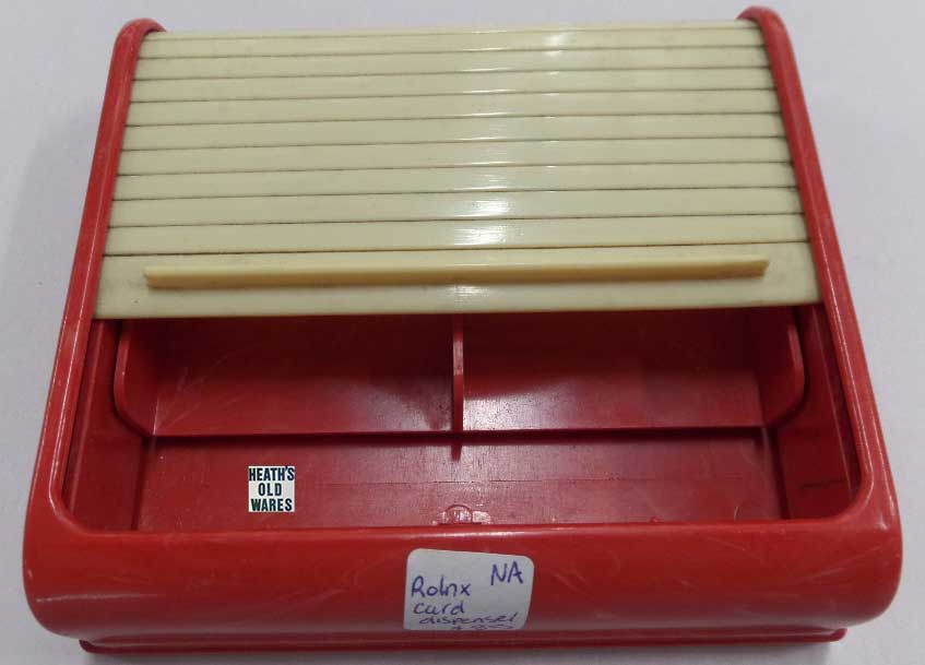 Rolex card holder for sale at Heaths Old Wares, Collectables, Antiques & Industrial Antiques, 19-21 Broadway, Burringbar NSW 2483 Ph 0266771181 open 7 days